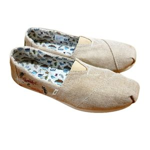 Toms RARE Limited ED '18 thankful & Grateful shoes